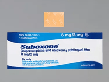 suboxone label