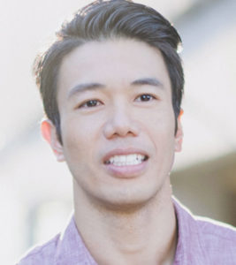 Portrait photo of young Asian man