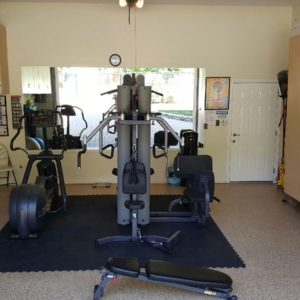 Dedicato Treatment Center's gym