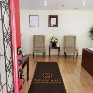 Dedicato Treatment Center lobby